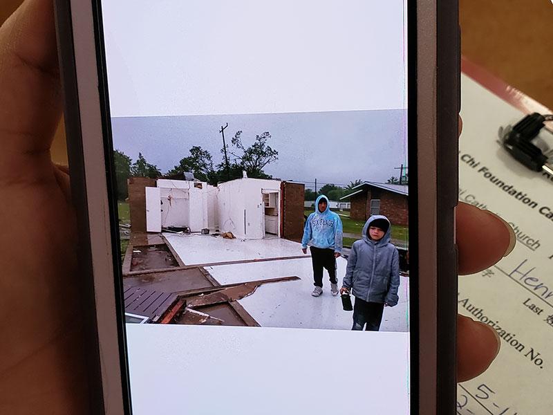 Texas Tornado Relief Tzu Chi