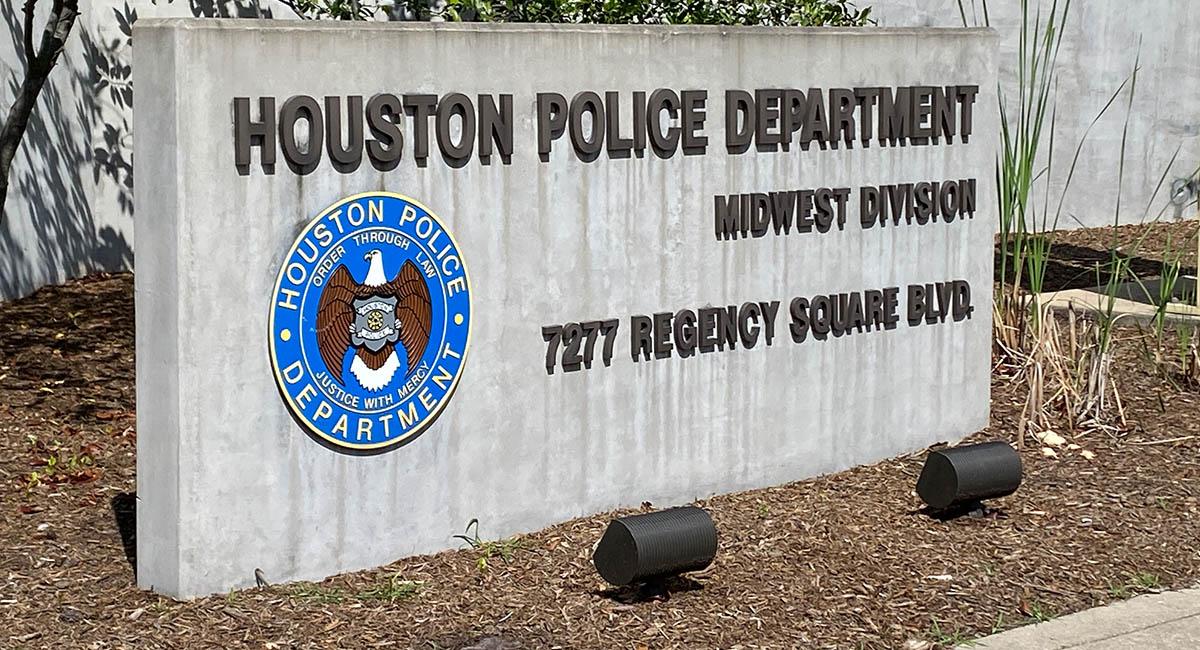 休士頓市警局外觀。攝影/劉本琦
